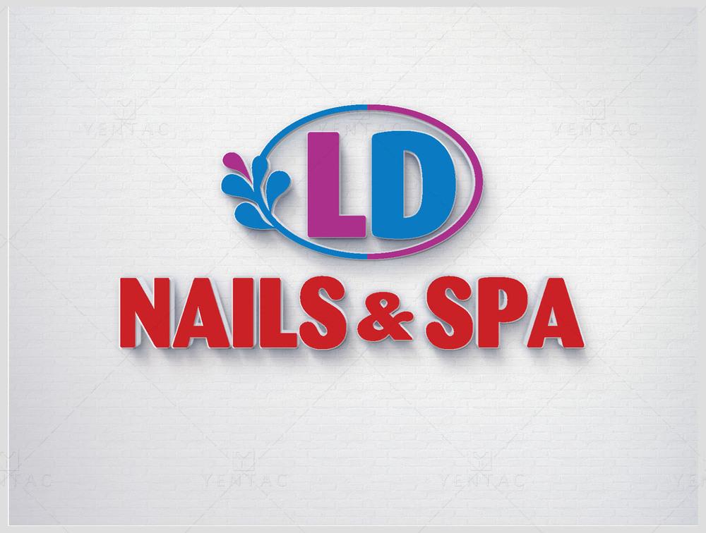 Logo - Nail Salon #50117 LD Brand