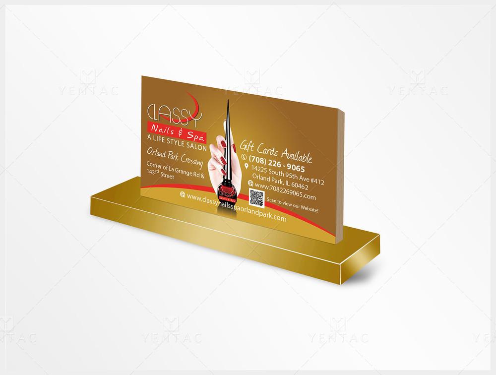 Business Card - Nail Salon #0990 Classy Brand