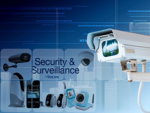 4-Channels Security Surveillance