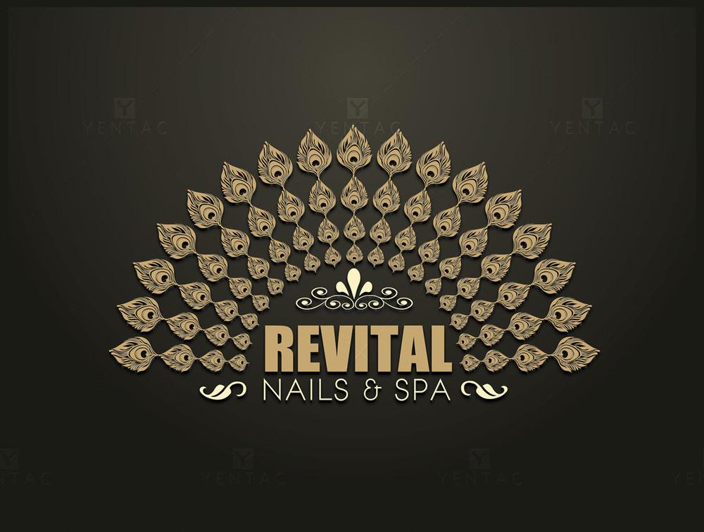 Logo - Nails Salon #5010 Revital Brand