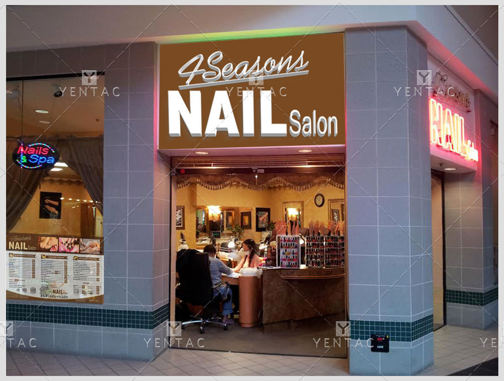 Price List Design - 4Seasons Nail Salon #5100