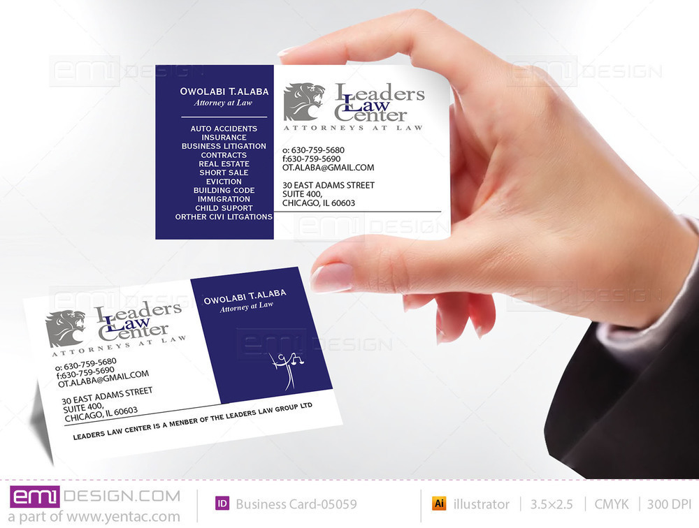 Business Card - Templates buscard-05059