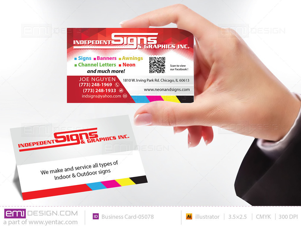 Business Card - Templates buscard-05078