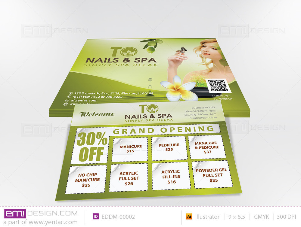 Every Door Direct Mail - Template EDDM-00002