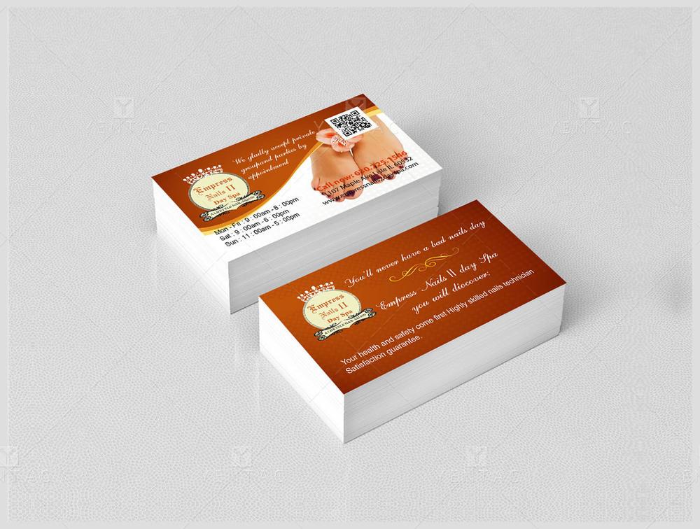 Business Card - Empress Nails Spa #4007 Salon
