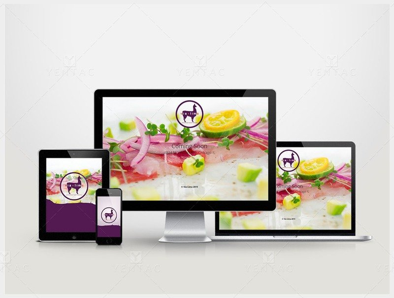 101-R - Web Design - Restaurant #8000 Via Brand