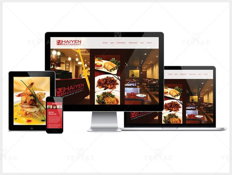 101-R - Web Design - Restaurant #1003 Hai Yen