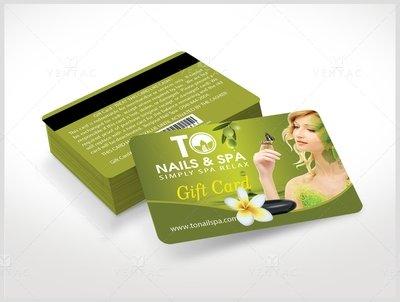 Plastic Gift Card Template - GCD-03011