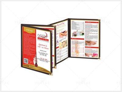 Menu Book - Client ID #0990 Classy Brand