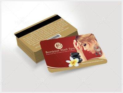 Plastic Gift Card - Template GCD-05070