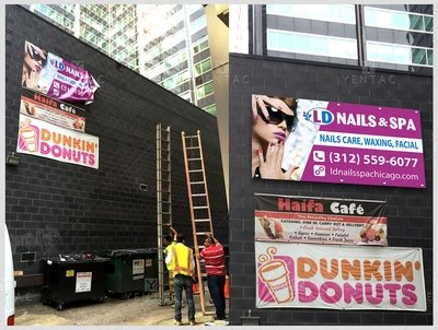 05 - Banner - Large Size Banner - Nail Salon #5117 LD Brand