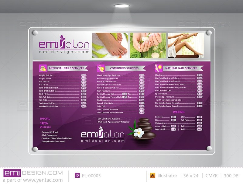 Price List Template PL-00003