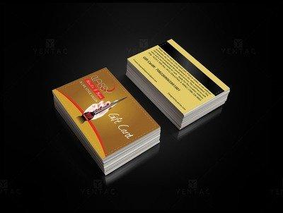 06 - Plastic Gift Card - Nail Salon #0990 Classy Brand