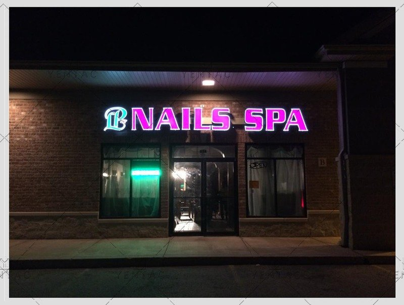 Logo Design - LP Nails Spa #5069