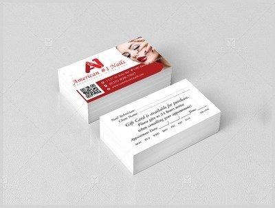 Business Card - A1 Nail Spa #1001