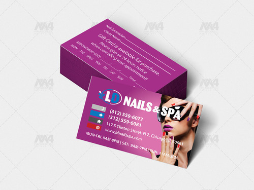 VIP Members Business Card Design