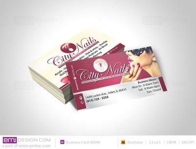 Business Card - Template - buscard-05108B