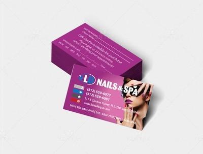 Business Card - Nail Salon #5117 LD Brand