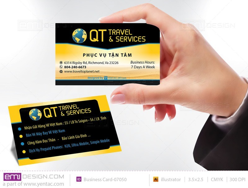 Business Card - Templates buscard-07050