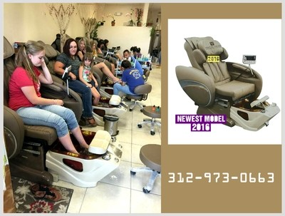 New 2016 Spa Pedicure Chair Massage F-8000 For Nail Salon Owner