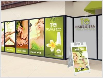 05.5 - Window Decal Design & Printing - 3011