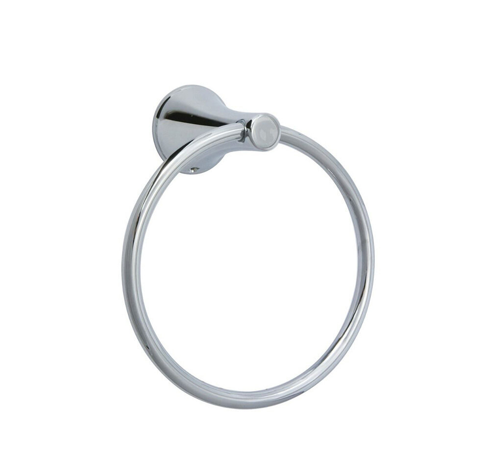 Carmel Chrome Towel Ring