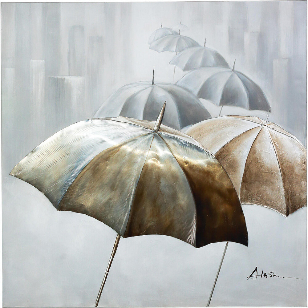 Dancing Umbrellas Art