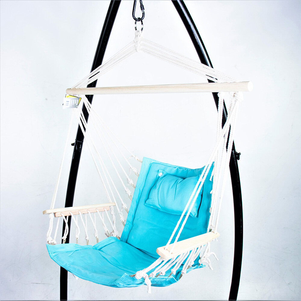 Hanging Chair w/Pillows & Arms