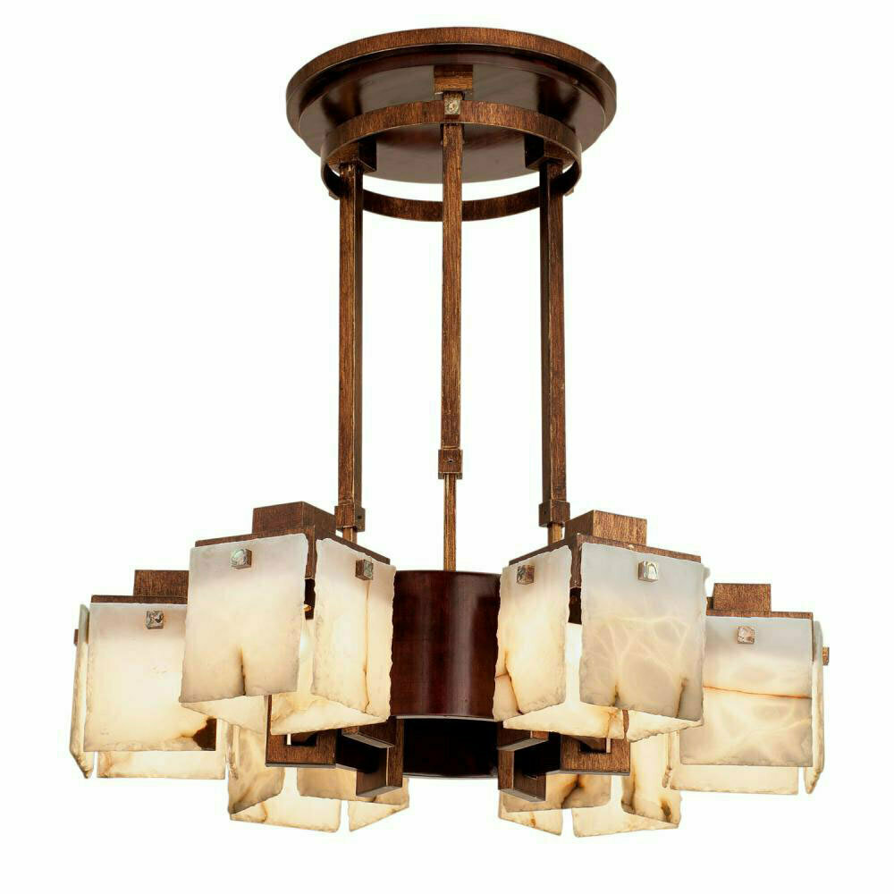 Bedford Antique Copper 6Lt Chandelier