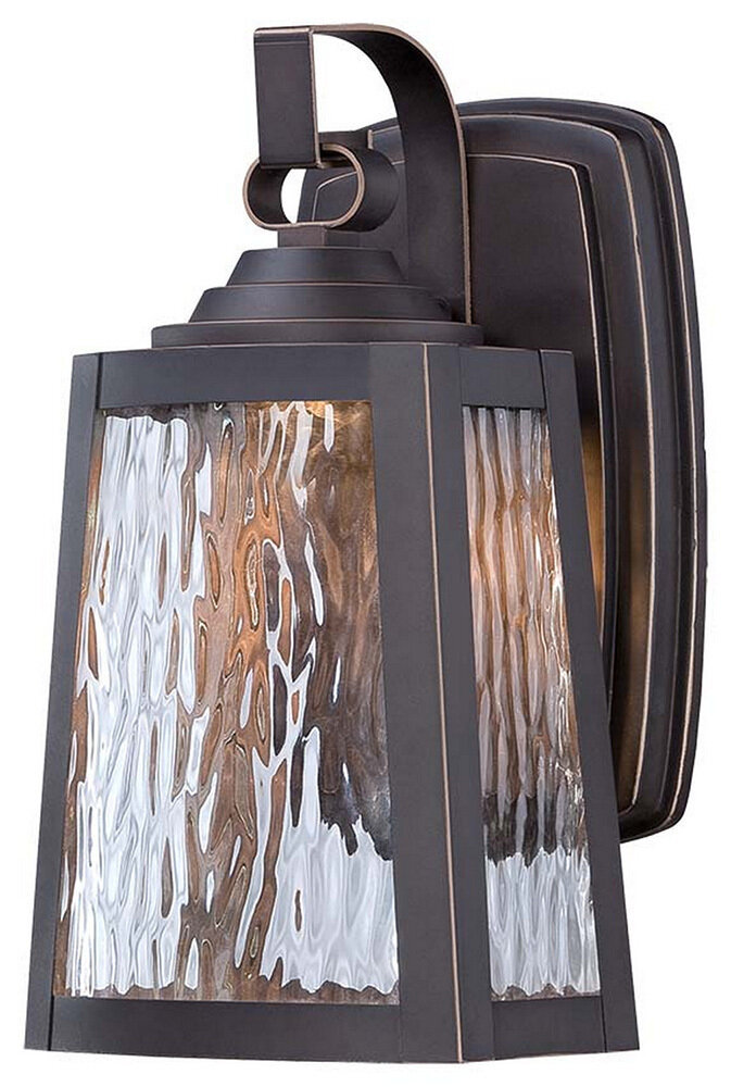 Talera Oil Rub Bronze Small Exterior LED Wall Mount