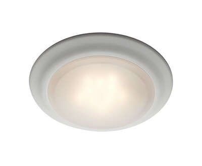 Vanowen White 2700K 15W LED 1 Lt Flush Mount