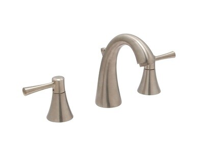 Carmel Satin Nickel Wide Spread Faucet