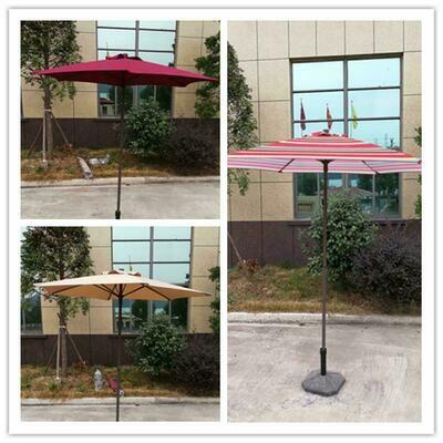 Steel Poly No-Tilt Umbrella 140G