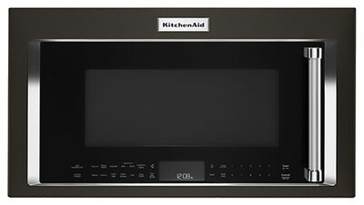 KitchenAid Black Stainless Steel Over The Range Microwave Oven