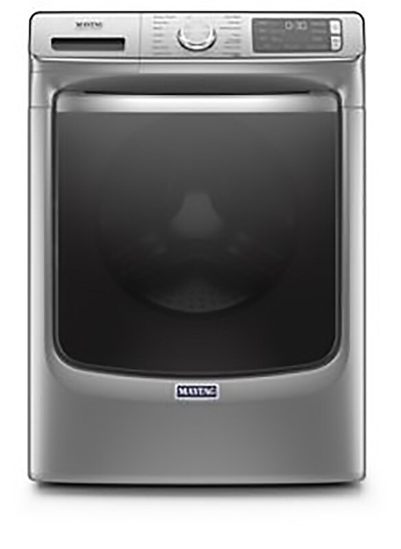 Maytag Metallic Slate Front Load Washer w/Sanitize