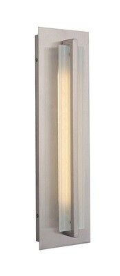 Allure Stainless Steel Med 1 Lt LED Exterior Wall Mount