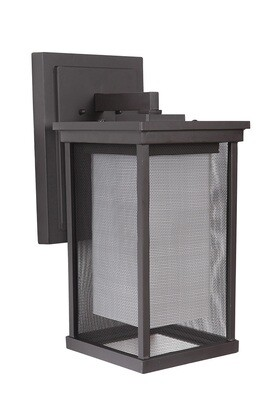 Riviera Oil Bronze Large 1Lt Exterior Wall Mount
