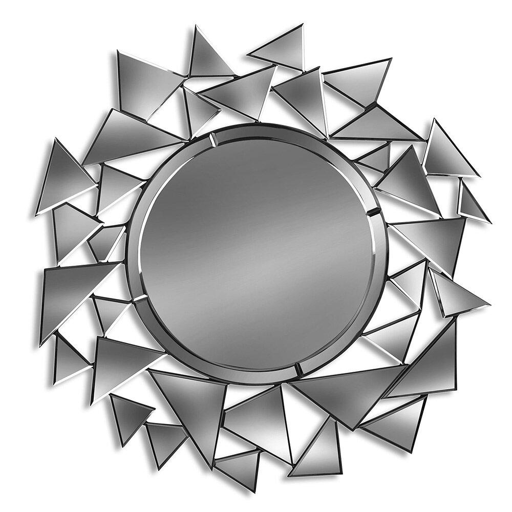Menage A Tri w/Center Circle Mirror