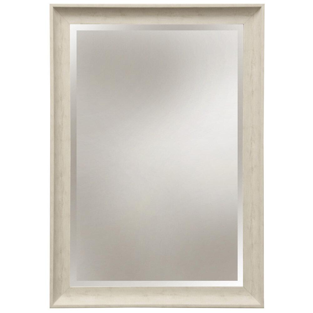 White Wash Mirror