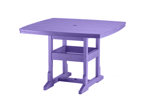 Dining Height Square Dining Table Grape