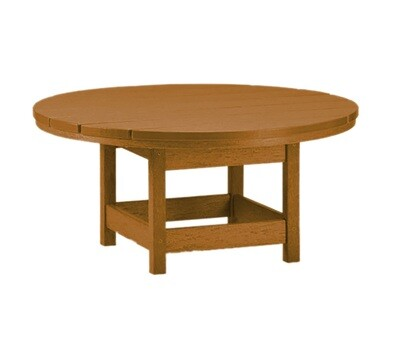 Conversation Round Table Cedar/Cedar (DISPLAY ONLY)