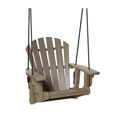 Coastal Single Swing Bench Weatherwood (DISPLAY ONLY)