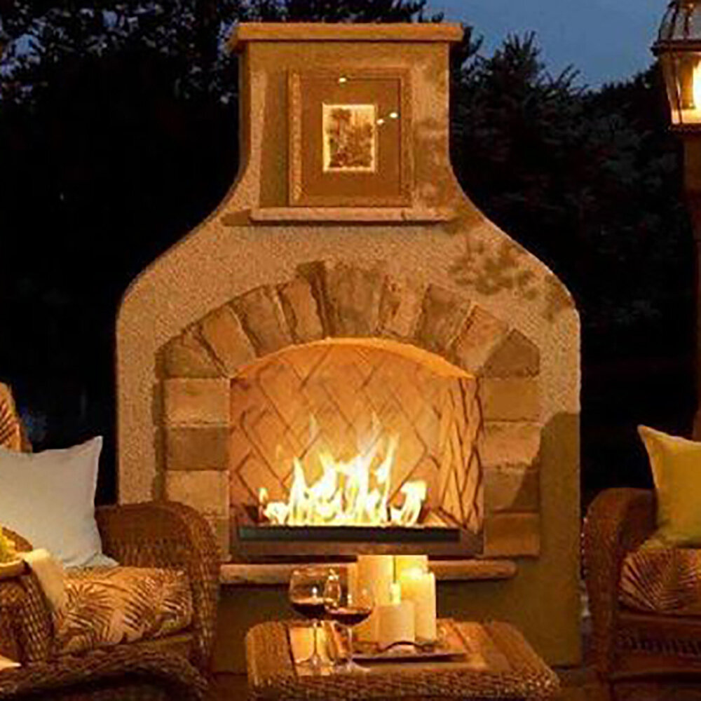Sonoma Outdoor Gas Fireplace