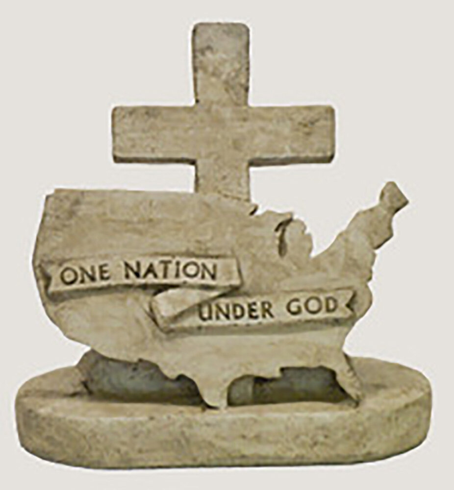 Pre Aged One Nation Under God Stat