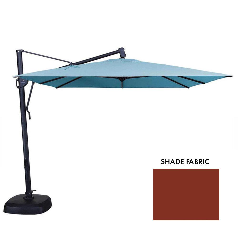 11' AKZ Octagon Auburn Cantilever Umbrella