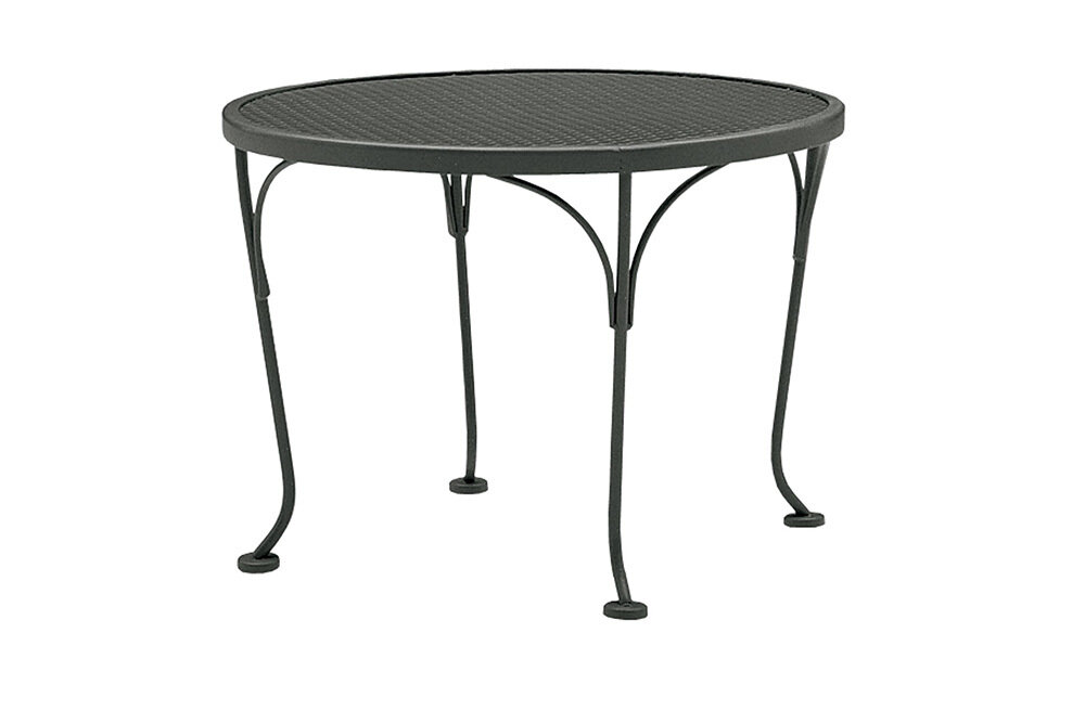 Universal Espresso Round End Table