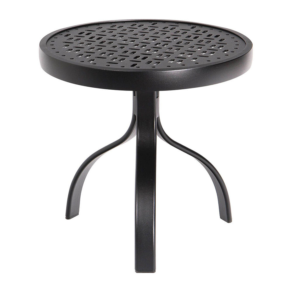 Bronze Round End Table