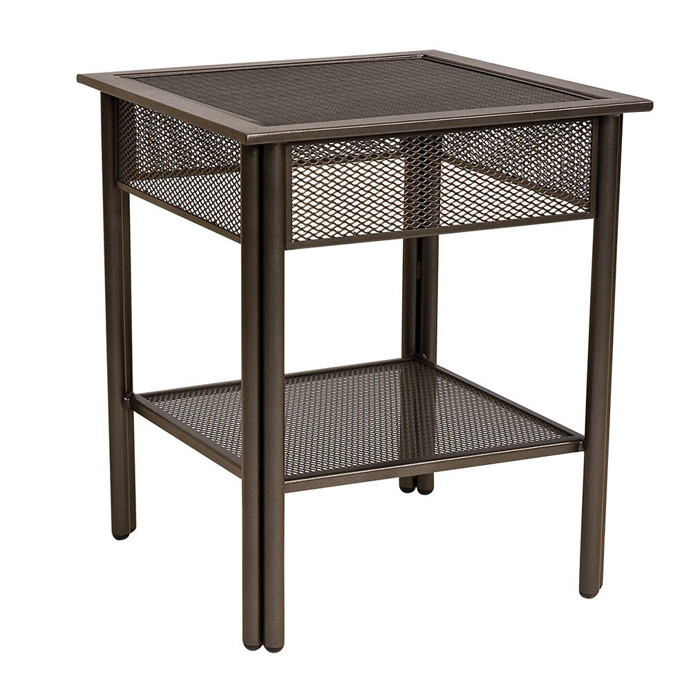 Jax Hammered Pewter End Tables (DISPLAY ONLY)