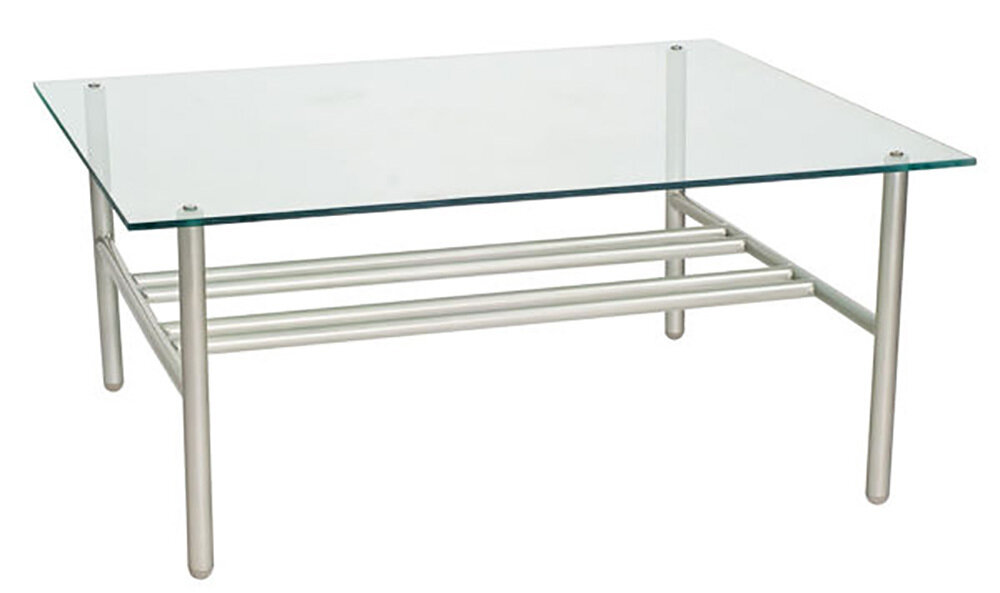 Uptown Chromite Coffee Table (DISPLAY ONLY)