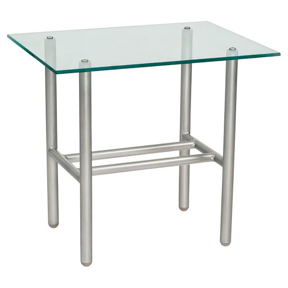 Uptown Chromite End Table